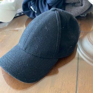 Men's gents black hat
